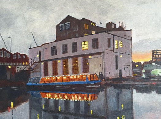 Francesco Conti - The Crate at Dusk, Hackney Wick